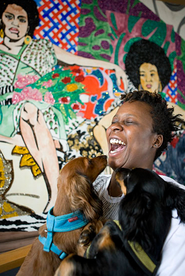 Mickalene Thomas, PAinter/